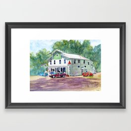 Jericho Country Store Framed Art Print