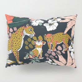 Animal print dark jungle Pillow Sham