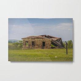 Sod Homestead, Mercer County, ND 4 Metal Print