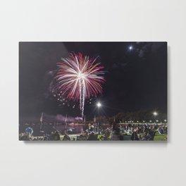 Gloucester Fireworks Metal Print