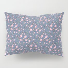 Watercolor Camellia Buds Pillow Sham