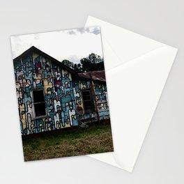 Abandoned house Stationery Cards