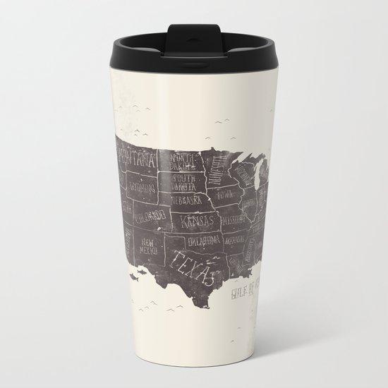 USA Metal Travel Mug