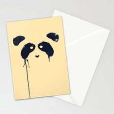 Panda {Cream} Stationery Cards