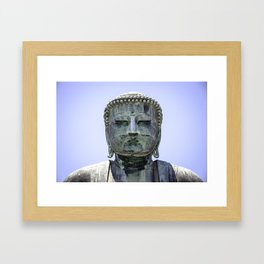 The Great Buddha of Kamakura Framed Art Print