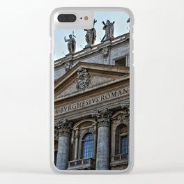 Vatican City Clear iPhone Case