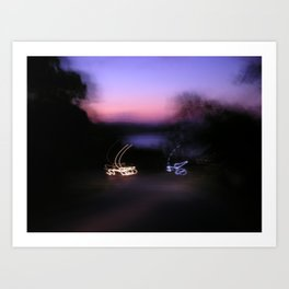 Signature Lights Art Print
