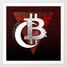 bitcoin turkey Art Print