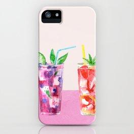 Summer Cocktails 8 iPhone Case