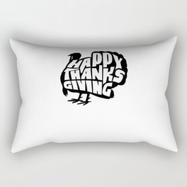 Thanksgiving Turkey Rectangular Pillow
