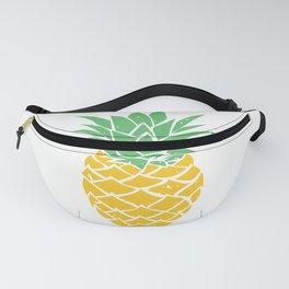 Pineapple Exotic Summer Fruit Gift Mmmmmh Tasty Fanny Pack