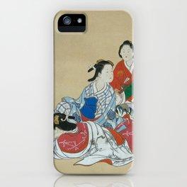 Three Beauties iPhone Case
