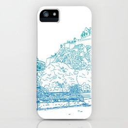 Princes Street Gardens iPhone Case
