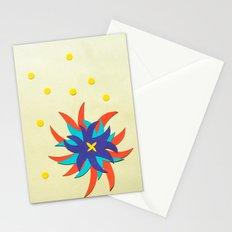 Fireworks Flower Stationery Cards