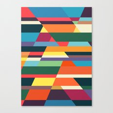 The hills run to infinity Canvas Print