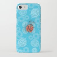ladybug iPhone & iPod Cases featuring Ladybug by JoonMoon