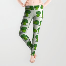 Broccoli Yoga Leggings