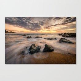 Kinnagoe Bay   Ireland  (RR80) Canvas Print