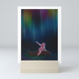 Under the Aurora Australis Mini Art Print
