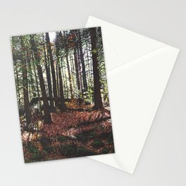 Red Restive Stationery Cards