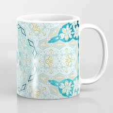 Where's My Indian Flower? (Blue and Gold) Mug