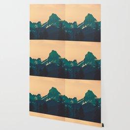 Cascade Mountains Sunset Wallpaper