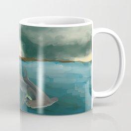 Surfin' Shark Coffee Mug