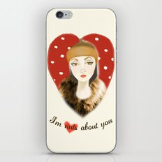 Camilla Willow: I'm Nuts About You iPhone & iPod Skin