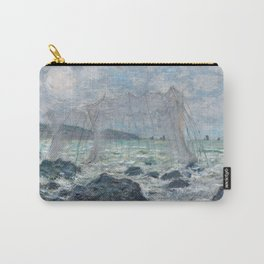 Fishing Nets at Pourville by Claude Monet Carry-All Pouch