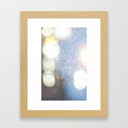 Rain Smell Framed Art Print