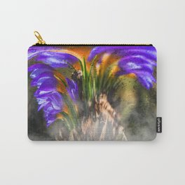 Concept flora : Crocus wings Carry-All Pouch
