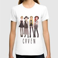 coven T-shirts featuring Coven by archibaldart