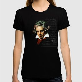 Beethoven - Music Demon T-shirt