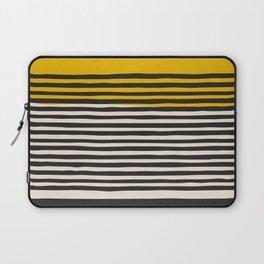 Mid Century Modern Art Print, Abstract Rainbow Arch wall art, Geometric Arch Print, yellow wall art, Laptop Sleeve