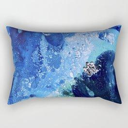 Little Polar Bear, Tiny World Environmental Collection Rectangular Pillow