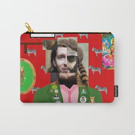 Wes Anderson illustration Carry-All Pouch
