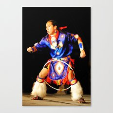 Hoop Dancer Canvas Print