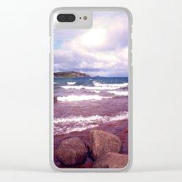 Upper Peninsula Clear iPhone Case