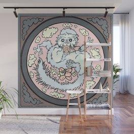 Ferret Dragon (square) Wall Mural