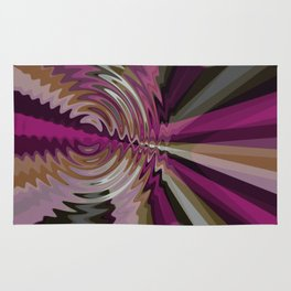 Rays Interrupted Rug