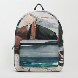 Winslow Homer1 - After The Hurricane, Bahamas - Digital Remastered Edition Backpack