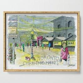 Toronto Christmas Market Serving Tray