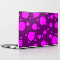 polka dots Laptop & iPad Skins featuring Polka Dots by Lyle Hatch