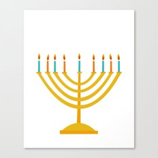 Holiday 2016: Menorah Canvas Print