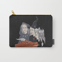 3 witches and a dragon Carry-All Pouch