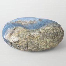 Mono Lake Tufa, No. 2 Floor Pillow