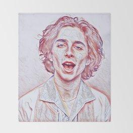 Timothée Chalamet x Sketch Throw Blanket