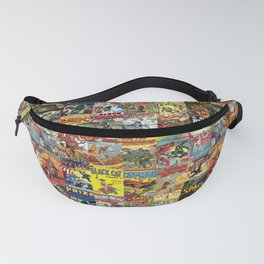 Comic Book Collage II Fanny Pack