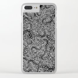 Cetipede Party 2 Clear iPhone Case