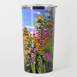 Cottage Garden Flowers Travel Mug